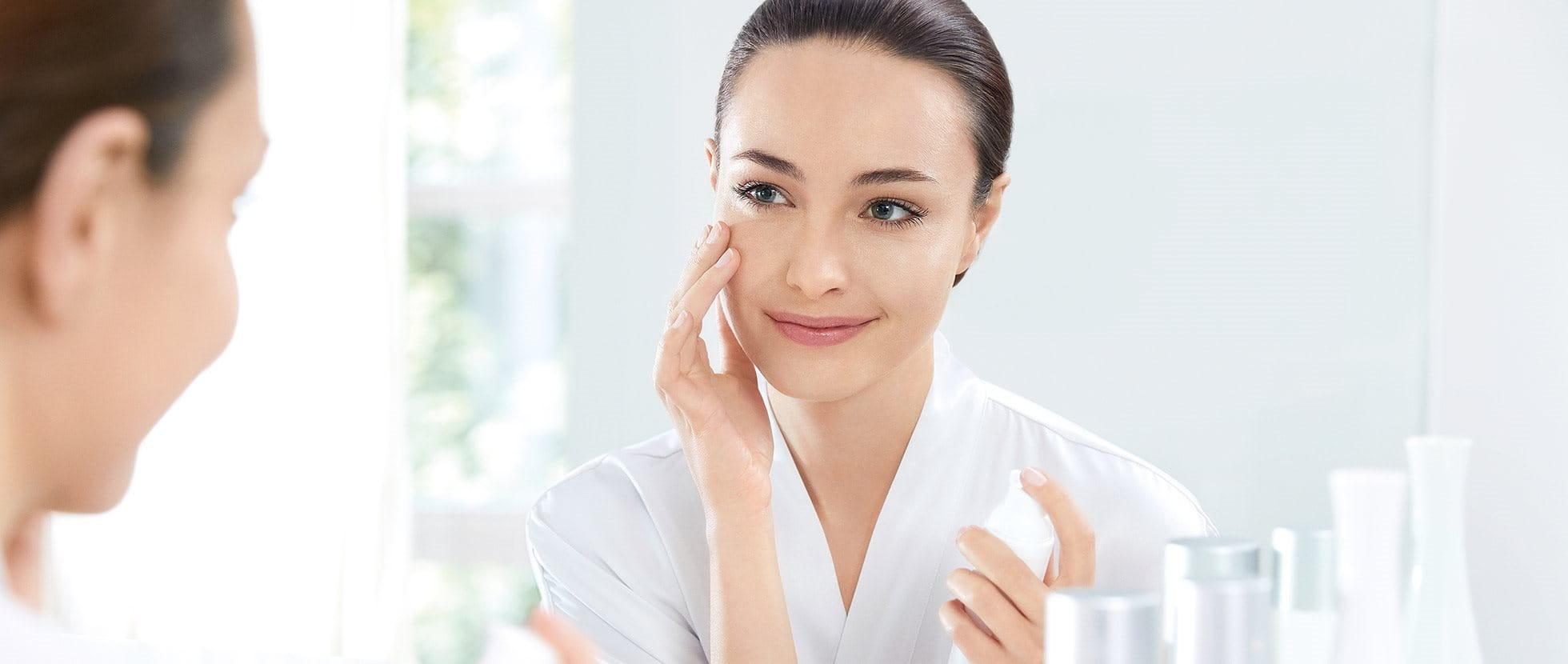 Image result for whitening skin asian model