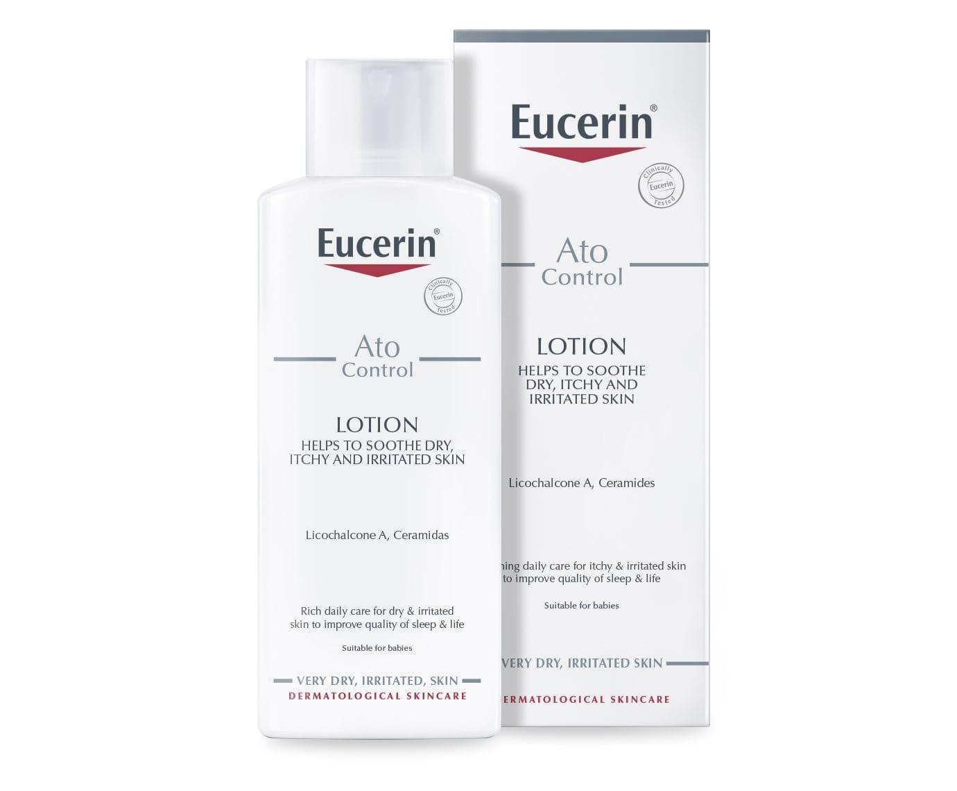 Atopicontrol Lotion For Atopic Dermatitis Eucerin Mild Cleansing Milk