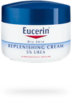 Eucerin Replenishing Cream 5% Urea plus Carnitine for dry patches of skin