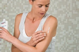 What helps with chicken skin or Keratosis Pilaris?