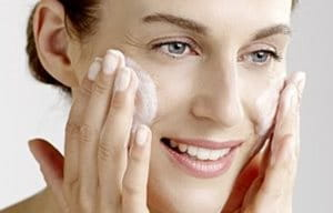 Use Eucerin Cleansing Gel or Cleansing Milk