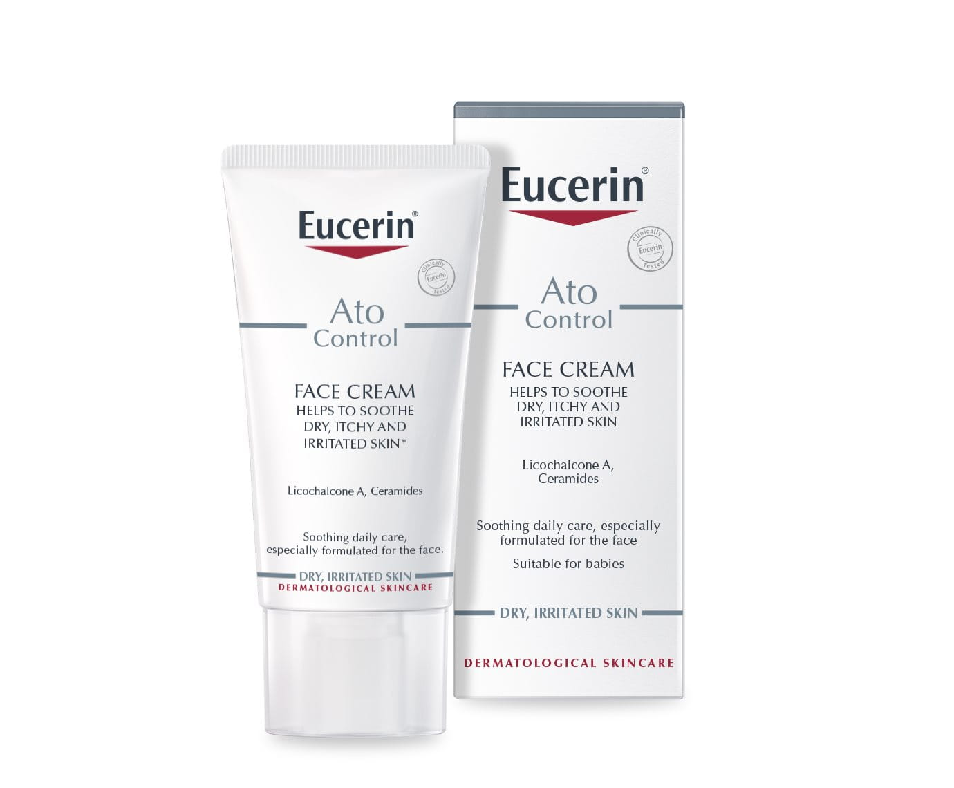 eucerin face care cream