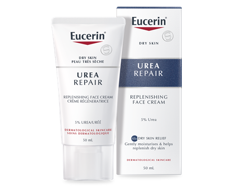Eucerin Replenishing Face Cream 5% Urea for dry to very skin