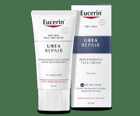 Eucerin: Urea | Dry Skin Replenishing Face Cream 5% UREA